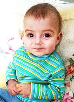 Сейдамет Дугу, 1 год, первичный иммунодефицит, синдром Вискотта – Олдрича, спасет трансплантация костного мозга. 3400000 руб.