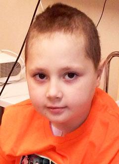 Игорь Приятелев, 9 лет, острый лимфобластный лейкоз, спасут трансплантация костного мозга и лекарства. 2115980 руб.