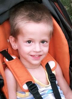 Алеша Веденяпин, 3 года, детский церебральный паралич, требуется лечение. 199620 руб.