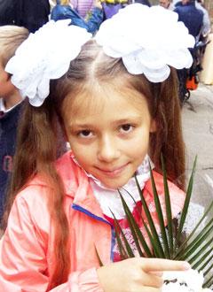 Маша Минкевич, 9 лет, левосторонний грудопоясничный сколиоз 2 степени, требуется ортопедический корсет. 143112 руб.
