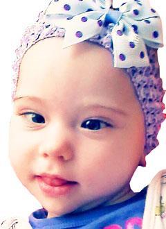 Кира Шайкина, 1 год, детский церебральный паралич, требуется лечение. 199620 руб.