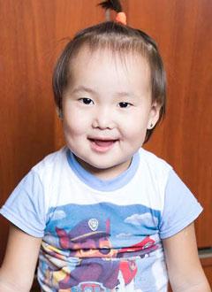 Арюна Цыбикова, 2 года, врожденный порок сердца, спасет эндоваскулярная операция, требуется окклюдер. 449780 руб.