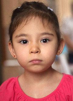 Регина Латыпова, 3 года, врожденный порок сердца, требуется замена электрокардиостимулятора. 602801 руб.