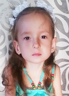 Милана Скрипко, 5 лет, органическое поражение центральной нервной системы, требуется лечение. 199620 руб.