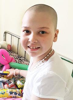 Ксюша Казанцева, 9 лет, острый лимфобластный лейкоз, спасут трансплантация костного мозга и лекарства. 2013714 руб.