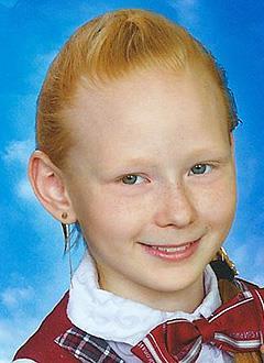 Таня Ведерникова, 12 лет, врожденный порок сердца, спасет эндоваскулярная операция, требуется окклюдер. 242799 руб.