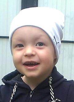 Глеб Донцов, 2 года, прогрессирующая миопатия Дюшенна (мышечная дистрофия), требуется курсовое лечение. 199200 руб.