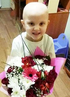 Настя Дернова, 4 года, острый лимфобластный лейкоз, спасут лекарства. 1324854 руб.
