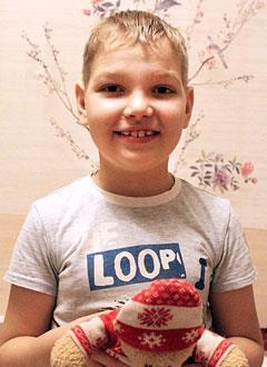 Саша Скирда, 8 лет, симптоматическая эпилепсия, требуется обследование и лечение. 106800 руб.