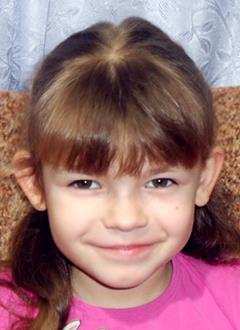 Маша Малеваная, 7 лет, двусторонняя сенсоневральная тугоухость 2 степени, требуются слуховые аппараты. 126024 руб.