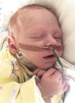 Савва Заривный, 4 месяца, врожденная патология кишечника, спасет операция. 764911 руб.