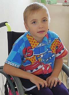 Сережа Щукин, 6 лет, детский церебральный паралич, требуется курсовое лечение. 180000 руб.