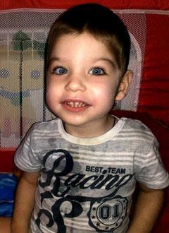 Саша Гагарин, 2 года, врожденный гиперинсулинизм, требуется лекарство. 108129 руб.