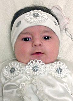 Марианна Данелян, 4 месяца, тератома (доброкачественная опухоль) правого яичника, требуется операция. 276690 руб.