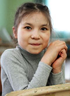 Камилла Киньягулова, 10 лет, врожденный порок сердца, спасет эндоваскулярная операция, требуется окклюдер. 339200 руб.