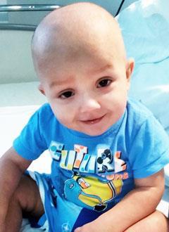 Костя Скирневский, 2 года, ювенильный миеломоноцитарный лейкоз, спасут лекарства. 1975373 руб.