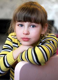 Соня Зиганшина, 10 лет, врожденный порок сердца, спасет эндоваскулярная операция, требуется окклюдер. 339200 руб.