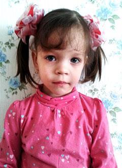 Марьяна Турушева, 3 года, двусторонняя тугоухость 4 степени, требуются слуховые аппараты. 218845 руб.