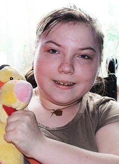 Таня Шатунова, 15 лет, детский церебральный паралич, требуется ортопедический костюм. 47198 руб.