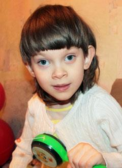 Настя Либухова, 7 лет, детский церебральный паралич, требуется лечение. 199430 руб.