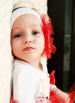 Василиса Кувалдина, полтора года, детский церебральный паралич, требуется лечение. 199430 руб.