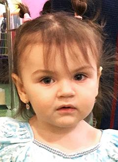 Бетти Хаймес Де Нова, полтора года, врожденный порок сердца, спасет эндоваскулярная операция. 260339 руб.