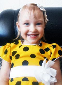 Настя Водолазова, 3 года, врожденный порок сердца, спасет эндоваскулярная операция. 339063 руб.