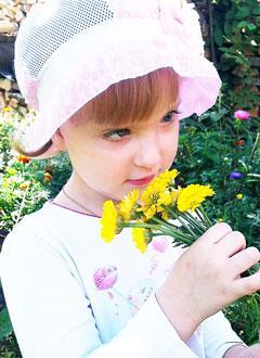Катя Карпычева, 3 года, врожденный дефект костей черепа, нужно компьютерное моделирование и имплант. 180000 руб.