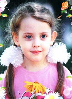 Женя Козлова, 8 лет, врожденный порок сердца, спасет эндоваскулярная операция. 606839 руб.
