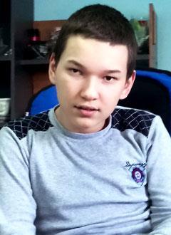 Егор Садретдинов, 15 лет, детский церебральный паралич, требуется специальный велотренажер. 143220 руб.