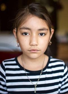 Соня Уметалиева, 10 лет, двусторонняя тугоухость 3-й степени, требуются слуховые аппараты. 219062 руб.