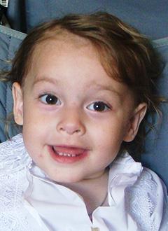 Алана Гассиева, полтора года, нейтропения – редкое врожденное заболевание крови, вызывающее снижение иммунитета, требуется лекарство. 51900 руб.