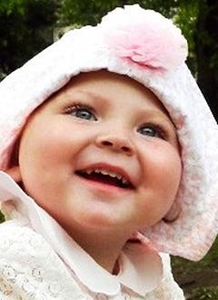 Ника Скубиева, полтора года, синдром короткой кишки, спасет парентеральное (внутривенное) питание. 1317220 руб.
