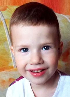 Жора Рудь, 3 года, двусторонняя тугоухость 4-й степени, требуются слуховые аппараты. 157542 руб.