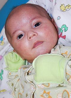 Муса Рахимов, 3 месяца, болезнь Гиршпрунга, синдром короткой кишки, требуется внутривенное питание. 621803 руб.