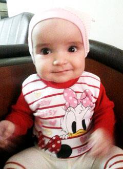 Асинат Ушаева, 6 месяцев, деформация черепа, требуется лечение специальными шлемами. 180000 руб.