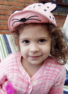 Алиса Падалка, 3 года, двусторонняя сенсоневральная тугоухость 3-4-й степени, требуется звукоусиливающая FM-система. 220234 руб.