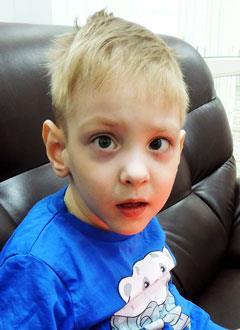 Паша Гаврилюк, 5 лет, органическое поражение центральной нервной системы, требуется лечение. 199430 руб.