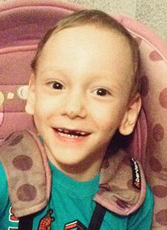 Артем Халиулин, 4 года, детский церебральный паралич, задержка речевого и психомоторного развития, требуется лечение. 199430 руб.