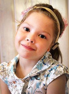 Онега Полина, 6 лет, аномалия развития ушных раковин и слуховых проходов, кондуктивная тугоухость, требуются этапные операции в клинике Глобал Хиаринг (Пало-Альто, США). 4867100 руб.