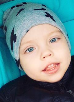 Артем Гаврюшенко, 3 года, детский церебральный паралич, требуется лечение. 199430 руб.