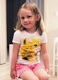 Эмилия Абдуллина, 4 года, врожденный порок сердца, требуется замена кардиостимулятора. 262570 руб.