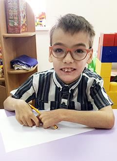 Тимур Симаков, 7 лет, детский церебральный паралич, требуется курсовое лечение. 180000 руб.