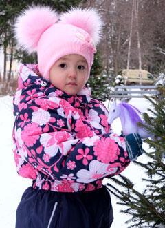 Лера Фликова, 3 года, врожденный порок сердца, спасет эндоваскулярная операция, требуется окклюдер ирасходные материалы. 284270 руб.