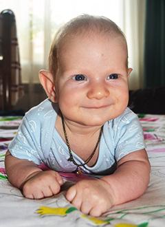 Ваня Солонин, 5 месяцев, деформация черепа, требуется лечение специальными шлемами. 180000 руб.