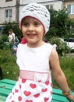 Марина Зубова, 5 лет, врожденный порок сердца, спасет эндоваскулярная операция. 322204 руб.