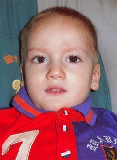 Даня Лиходиенко, 5 лет, детский церебральный паралич, спастический тетрапарез, эпилепсия, требуется инвалидная коляска. 359352 руб.