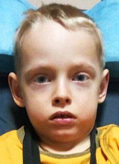 Егор Костенец, 6 лет, детский церебральный паралич, требуется лечение. 199430 руб.