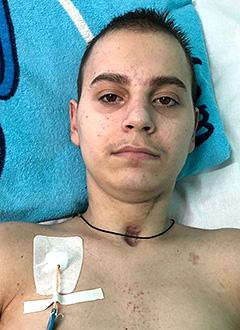 Леша Стуклов, 16 лет, тяжелая позвоночно-спинномозговая травма, требуется лечение. 227850 руб.