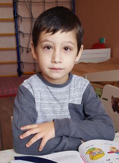 Давид Нечаевский, 6 лет, двусторонняя тугоухость 2-й степени, требуются слуховые аппараты. 219062 руб.